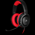 Corsair HS35 Gaming stereo headset red