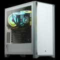 Corsair 4000D Tempered Glass Mid-Tower ATX Case White
