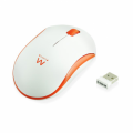 Ewent Wireless optical Mouse 1000dpi Arancio EW3211