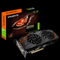 Nvidia GTX1070 Ti 8GB Gigabyte WindForce