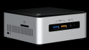 Intel NUC Kit NUC7i3BNH i3-7100U Iris Plus 620