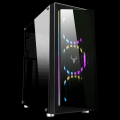 Itek Case OPTOIX Gaming Middle Tower, 2xUSB3, 3x12cm ARGB fan, Front & Side Panel Temp Glass