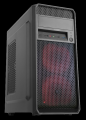 Itek Prime Middle Tower, ATX, 500W, USB3.0, 2x12cm red fan