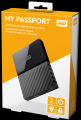 "Western Digital 1TB My Passport Black 2.5"" USB3"