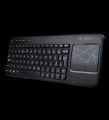 Logitech Wireless Touch Keyboard K400 Black